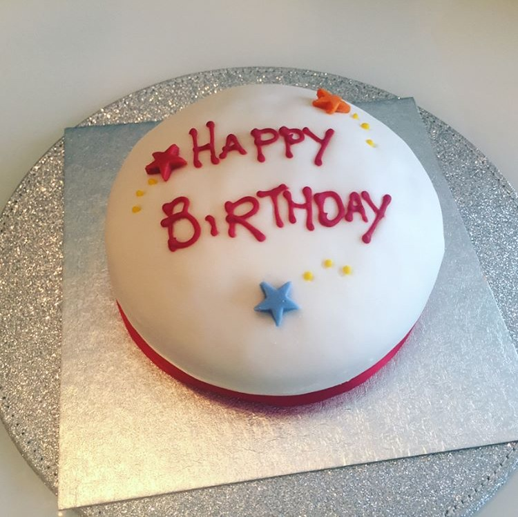 Birthday Cake With No Wheat Soya Milk Or Egg