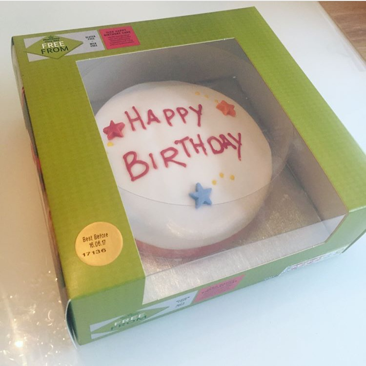 Just Love Food Company Morrisons Free From Happy Birthday Madeira