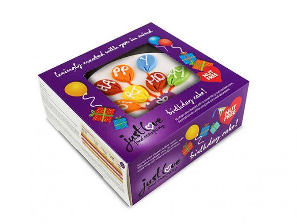 Nut Free Birthday Cakes Sainsbury