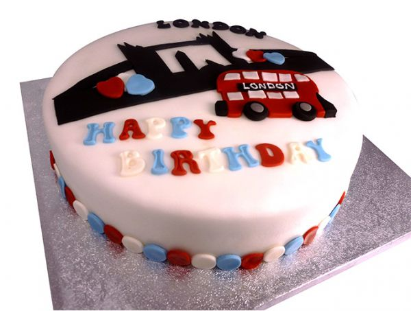 London Birthday Cake