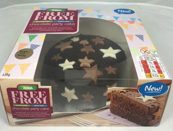 Character Birthday Cakes Asda ~ Nut free cakes in supermarkets just love food company