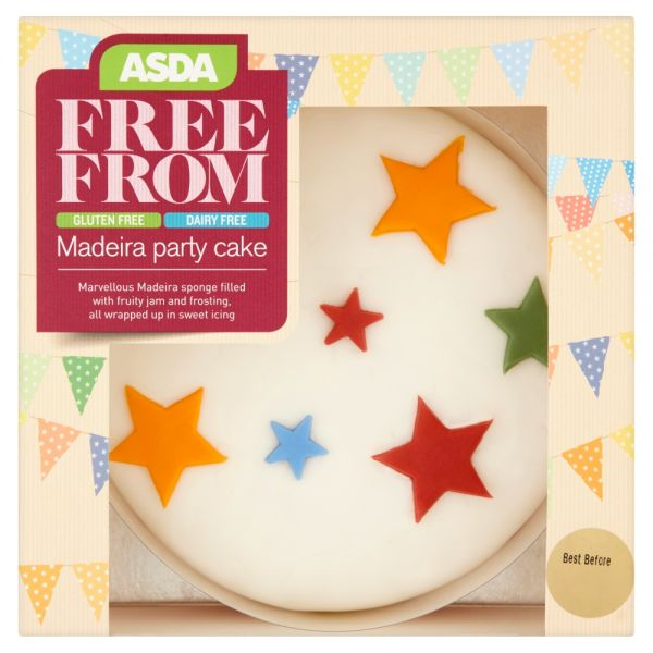 Asda Free From Maderia Celebration Cake
